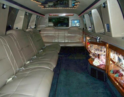 Ashworth's Limousines Lincoln Sedan Limo Interior